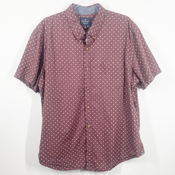 ❇️3 for 20 ❇️ American Eagle Short Sleeve Button Down (XXL)